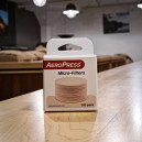 A pack of paper filters for the Aeropress coffee brewer