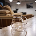 V60 glass server to brew filter coffee in
